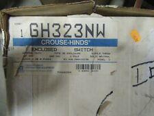 Crouse Hinds Gh323nw 100 Amp 240 Volt 1ph 3w Nema 3r Disconnect New B
