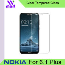 Clear Tempered Glass Screen Protector for Nokia 6.1 Plus