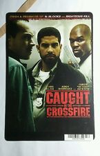 CAUGHT IN THE CROSSFIRE KLEIN RODRIGUEZ  MINI POSTER BACKER CARD (NOT A movie )