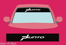 PUNTO SUNSTRIP DECALS GRAPHICS STICKER choose any 2 colours from list SS009