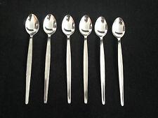 Soda Spoon Stainless Steel Sundae Long Teaspoon Parfait Iced Coffee Cafe Cutlery