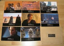 STAR WARS: AOTC - Episode 2 - Attack of the Clones/Fotos/lobby card set -RARE
