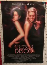 Original Movie Poster The Last Days Of Disco Double Sided 27x40