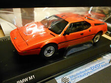 Bmw m1 Super coches deportivos naranja 1979 Heritage Minichamps New nuevo 1:18