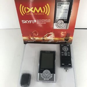 DELPHI XM Satellite Radio SKYFi3 Unit/MP3 Player Remote + Car Kit