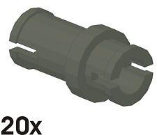 20 PEZZI NUOVO 3/4 pin in alt-GRIGIO SCURO (32002) q1
