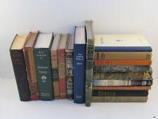 Lot of 17 Vintage Books 1941-1949 : Weaver, Ashley, Dodge ++  Decorative Lot