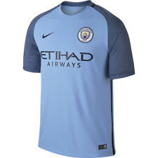OFFICIAL MANCHESTER CITY HOME 16/17 JERSEY Size YXS (6)
