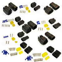 ECONOSEAL AMP WATERPROOF ELECTRICAL WIRING MULTI CONNECTOR 2 3 4 6 10 12 WAY PIN
