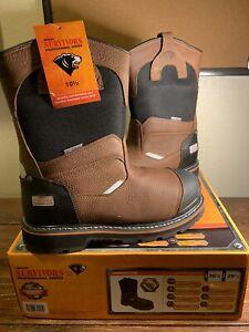 SELLING FAST! Herman Survivors Harrington Men's Steel Toe Boot - Size 10.5