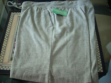 New Spring Faire Heather Gray Ladies Shorts w/pockets Small NWT