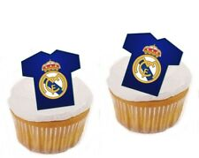 24 Muffin / Cupcake Real Madrid Maillot  Gateau Disque Azyme Football