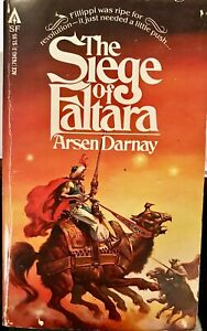 The Siege of Faltara by Arsen Darnay 1978 Ace Science Fiction Paperback VG