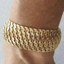 Sehr schweres, gepflegtes  Armband, 750 Gold; Gewicht 86,4 Gramm, Länge 20,5 cm