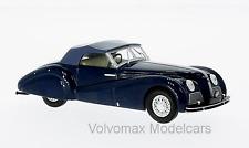 wonderful modelcar ALFA ROMEO &C 2500 SS SPIDER 1939 - darkblue  - scale 1/43