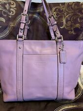 coach handbags Tote Bag Purple Color Medium Size,