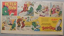 Ben-Gay Ad: Peter Pain: Gets Snowed Under ! 7.5 x 14 inches