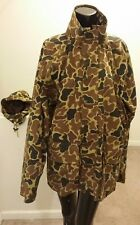 Woolrich Mens Tan Camo Size Large Hunting Jacket
