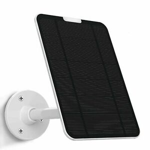 Solar Panel for Ring Video Doorbell 1(2nd Gen),4W Output (No Include Camera)