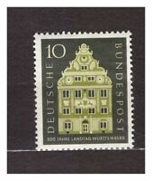 S31595) Germany 1957 MNH Wurttemberg 1v