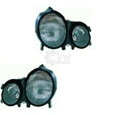 Headlight Set Mercedes E-Class W210 Year 99-02 Facelift H7 +H7 1070202