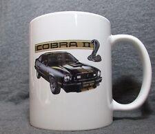 Ford Mustang II Cobra II Coffee Cup, Mug - New - 70's Classic - Sharp!