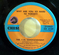 11th Commandment: Why Are You So Hard to Forget / Have You Had.. [Unplayed Copy]