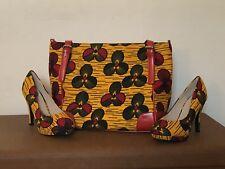 Ankara African Print Bag and shoes