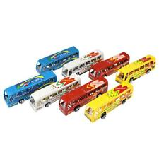 1pcs Pull Back Cars Toy Alloy Bus Mini Model City Express Double Buses Kid Gifts