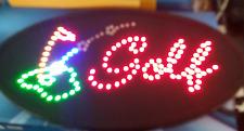 New Design Big Bright Golf & Motion Ball Led Neon Sign Flash Roxy Display