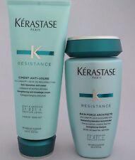 Set KERASTASE Force Architecte Shampoo & Cream Duo for Damaged Lengths & Ends