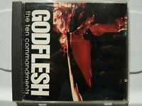 GODFLESH: THE TEN COMMANDMENTS ULTRA RARE PROMO ONLY CD! 1996 EARACHE! MINT