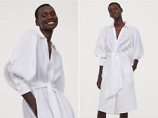 Johanna Ortiz  H&M Linen shirt dress White Size Medium