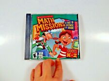 Scholastic Math Missions Race Spectacle Arcade K-2 Home School CD PC Windows Mac