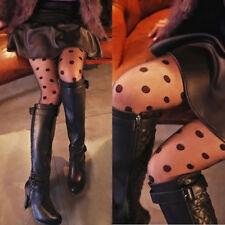 Sexy Femme Collants Collant Bas Toile Résille Élastique Leggings Justaucorps NF
