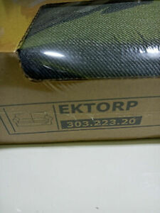 * New Original IKEA cover set for EKTORP 2 seat sofa in NORDVALLA DARK GREY