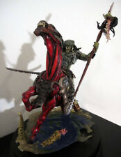 "1/8 Predator Riding Alien Horse Model Figure Unpainted Unassembled Resin Kit 14"""