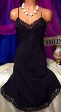 Vintage Victoria Secret Sheer 100% Silk Slip Gown Dress XS S