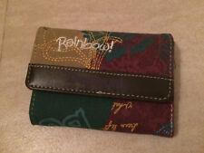 Portefeuille DESIGUAL vert, beige, violet - NEUF