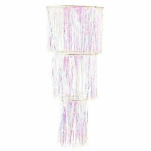 Party decoration large Iridescent Chandelier - Paperchase - (1264)