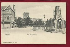 Vintage Postcard.Enfield-The Market Place.The Wrench Series No.9024.c1905.C14