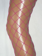 Rose Pink Whale Net Tights. Ladies 10-14