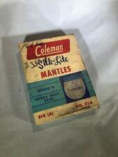 Vintage Coleman Silk Lite Mantles