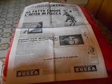 CALCIO RIVISTA MILAN INTER  NR 38  11-9-1951 inter  pro  patria schierate