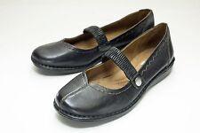 Naturalizer 6.5 WW Black Mary Jane Women's Shoe