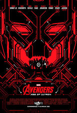 AVENGERS AGE OF ULTRON MOVIE POSTER 1 Sided ORIGINAL MINI SHEET Ver B 13x19