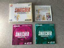SNATCHER Cyberpunk adventure NEC PC Engine Japanese NTSC-J