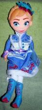 "Disney Frozen Plush ANNA 18"" Winter Doll NWT"