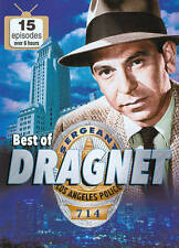 Dragnet: 15 Episodes (2-pk), Good DVD, Ben Alexander, Herb Ellis, Jack Webb, Jac