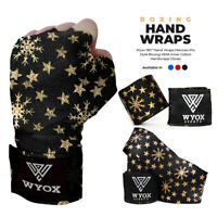Wyox Hand Wraps Mexican Bandages Boxing Fist Inner Gloves Muay Thai MMA Star B